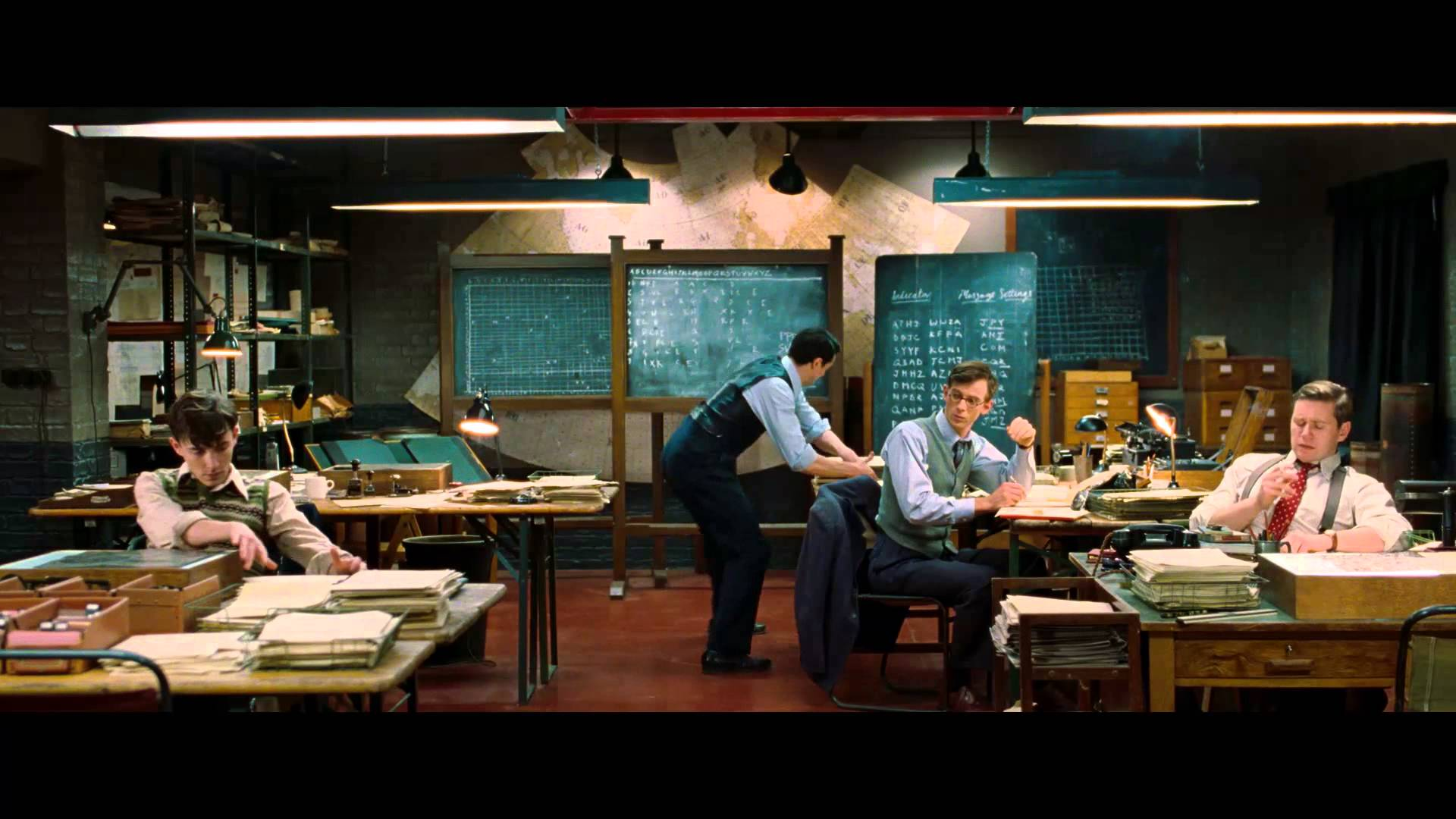 The Imitation Game 2014 Dog And Wolf